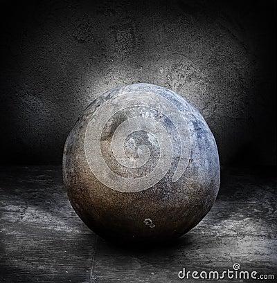 Esfera de piedra