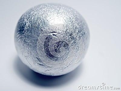 Esfera de prata