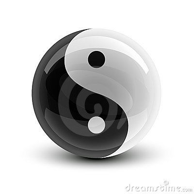 Esfera de Yin e de Yang