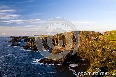 Eshaness cliffs