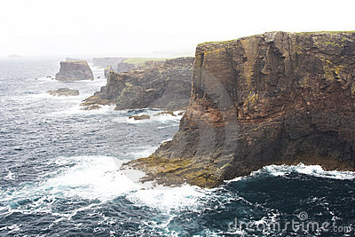 Eshaness Cliffs, Shetlands
