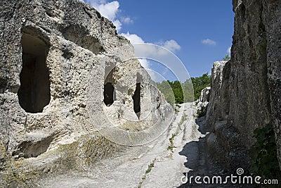 Eski-Kermen cave town