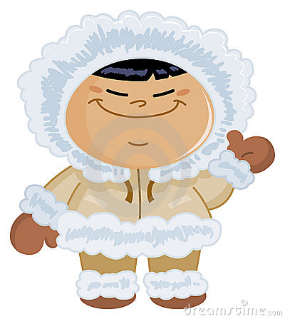 Free Eskimo Kid Stock Images - 19925844