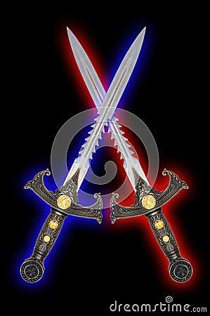 Espadas de la fantasía