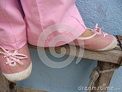 Espadrilles, chaussure de tennis