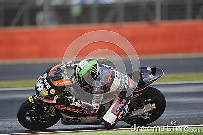 Espargaro политик, moto 2, 2012 Редакционное Фото