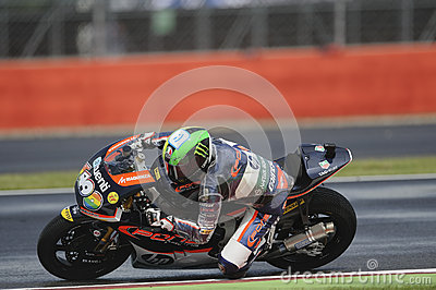 Espargaro do político, moto 2, 2012 Foto Editorial