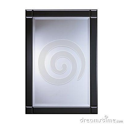 Espejo de cristal del marco negro im genes de archivo libres de regal as imagen 33438649 - Marcos de cristal ...