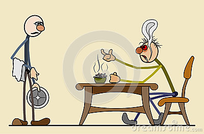 Espera larga en el restaurante