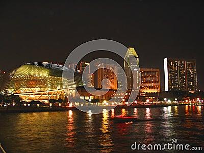 Esplanade at Night