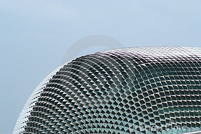 The Esplanade Theater In Singapore Royalty Free Stock Image - Image: 16011736