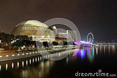 The Esplanade Theatre Singapore