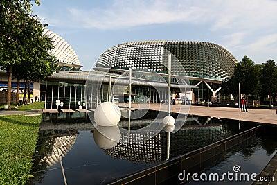 The Esplanade Theatre, Singapore Editorial Photo