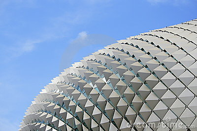 Singapore Esplanade Picture on Stock Images  Esplanade Theatre In Singapore  Image  5711894