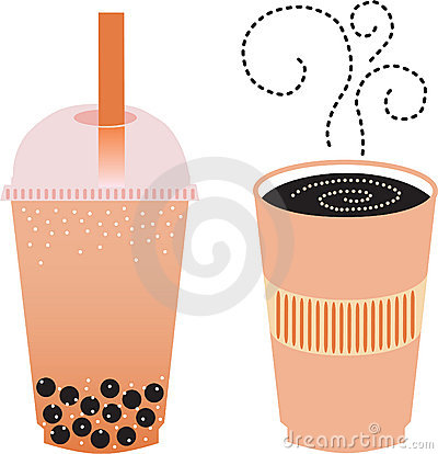 Espresso and Boba Tea