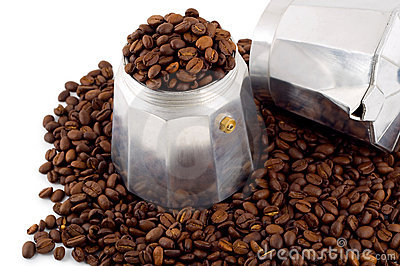 Espresso coffee bean set coffee-maker