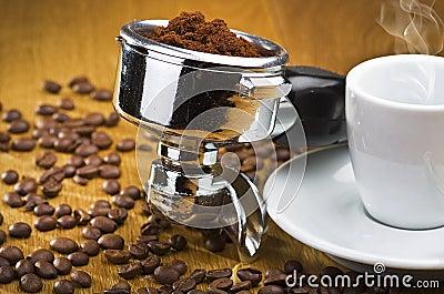 Espresso machine group head