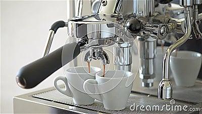 espresso Ohne Leute stock video footage