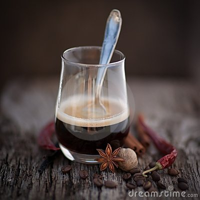 Free Espresso, Oriental Stock Photography - 24007262
