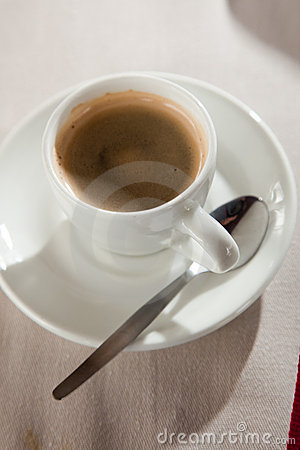 Espresso Strong And Rich Stock Photography