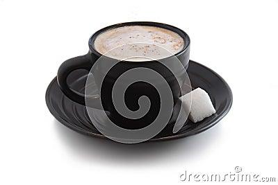 Espresso with Sugar Cube