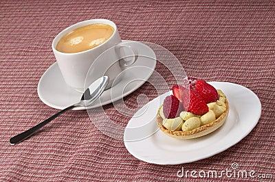 Espresso and tart