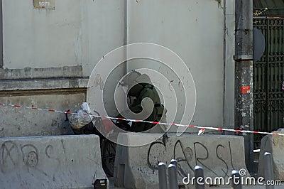 Esquadrão da morte Fotografia Editorial