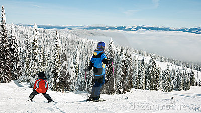 Esqui da família