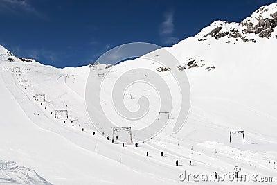 Esqui nos alpes