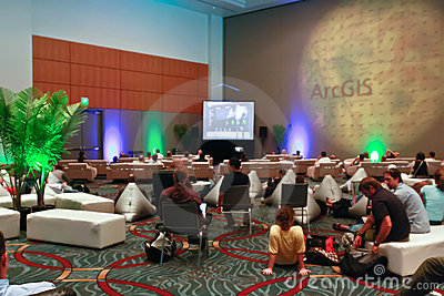 ESRI User Conference 2010 - GIS Lounge Editorial Image