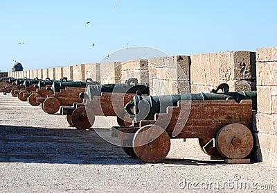 Essaouira Canon Battlements