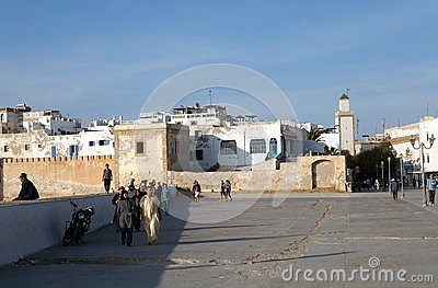 Essaouira fortified city Editorial Stock Photo