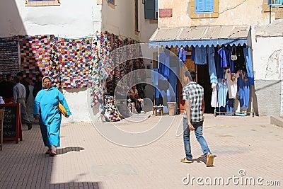 Essaouira Market, Morocco Editorial Stock Image