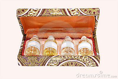 Essential Oils in a gift box