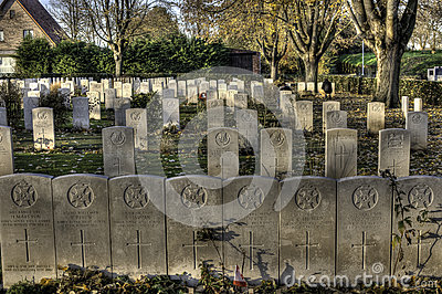 Essex Farm, WWI  Cemetery, Flanders Fields, Ypres, Belgium