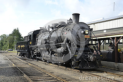 Essex Locomotive 3025 steam train Editorial Photography