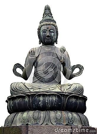 Estátua de Buddha em Tokyo