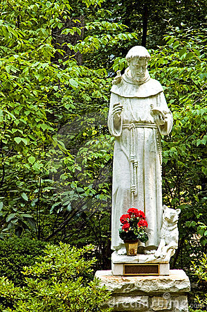 Estátua de St. Francis