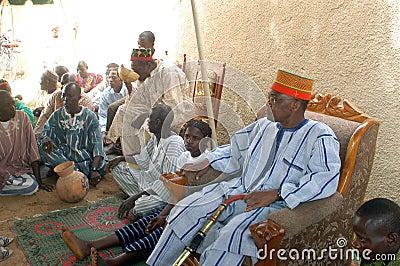 Establishment of a usual chief Editorial Photo