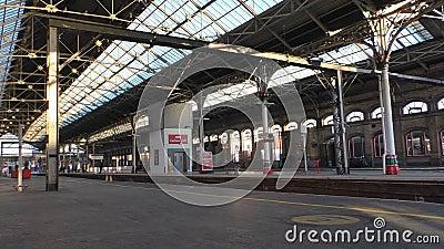 Estación de tren de Preston almacen de metraje de vídeo