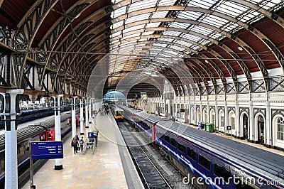 Estación de Paddington, Londres Foto editorial