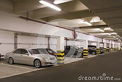 Estacionamento subterrâneo