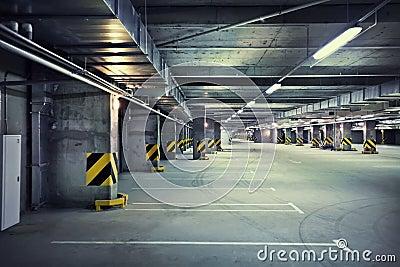 Estacionamiento subterráneo
