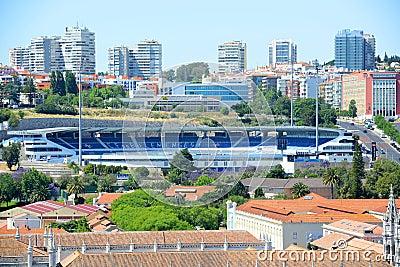 Estadio do Restelo, Lisbon, Portugal Editorial Image