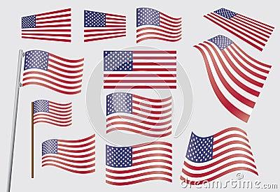 Estados Unidos embandeiram