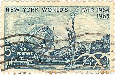 Estampille d Exposition universelle de New York