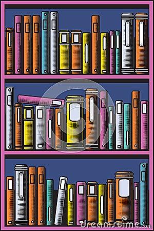 Estante para libros imagenes de archivo imagen 15557974 - Estante para libros ...