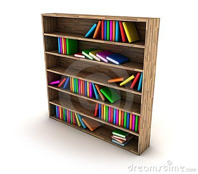 Estante para libros fotos de archivo libres de regal as - Estantes para libros ...