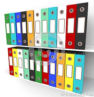 Estantes de los ficheros para conseguir la oficina for Ficheros para oficina