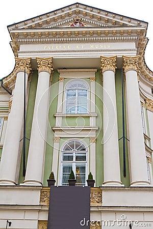 Estates Theatre from Prague